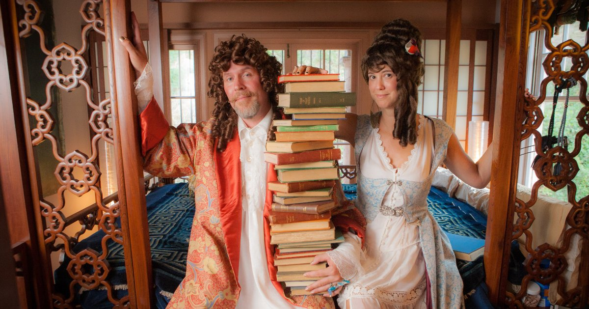 Poetry Nap Podcast and Live Shows Lady and Lord Dosis